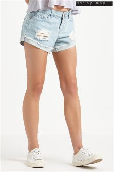 Noisy May Denim Shorts