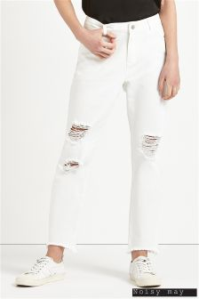 Noisy May Distressed Ankle Jeans
