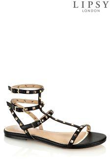 Lipsy Stud Flat Sandals