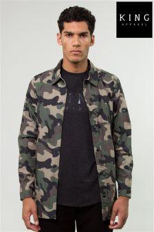 King Camouflage Military Jacket