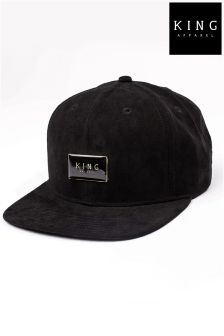 King Suede Snapback Hat