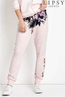 Lipsy Floral Print Joggers