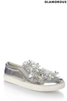 Glamorous 3D Flower Trainers
