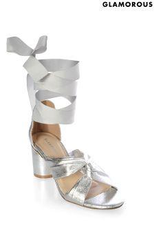 Glamorous Tie-up Sandal