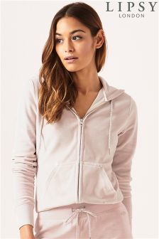 Lipsy Stone Crown Zip Through Hoody