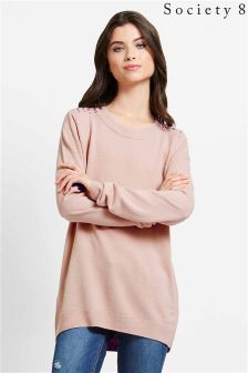 Society 8 Ribbon Shoulder Jumper