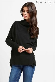 Society 8 Eyelet Detail Jumper