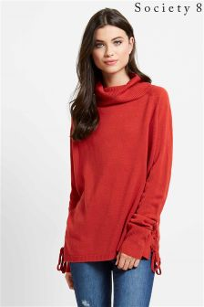 Society 8 Eyelet Jumper
