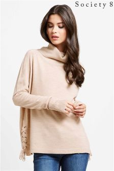 Society 8 Side Eyelet Jumper