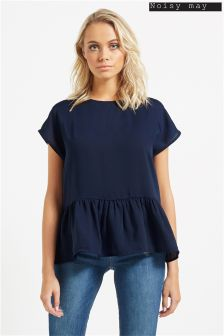 Noisy May Peplum Tee
