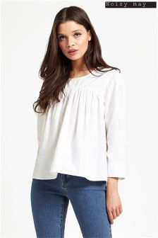 Noisy May 3/4 Sleeve Blouse