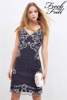 Frock And Frill Embellished Flapper Dress