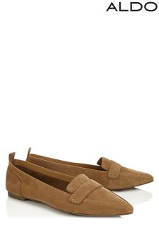 Aldo Suede Loafers