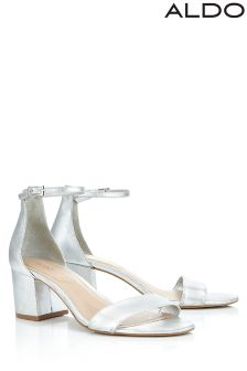 Aldo Mid Block Heel Sandals