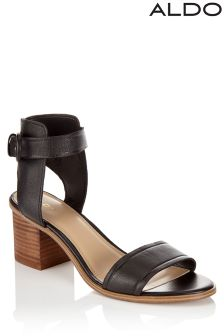 Aldo Ankle Strap Block Heel Sandals