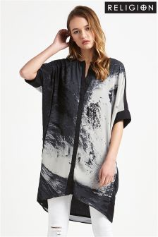 Religion Shirt Dress