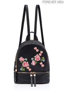 Forever New Embroidered Backpack