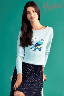 Yumi Bird Knit Jumper