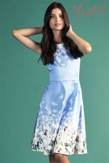 Yumi Floral Shift Dress