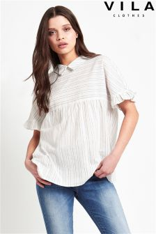 Vila Stripe Shirt