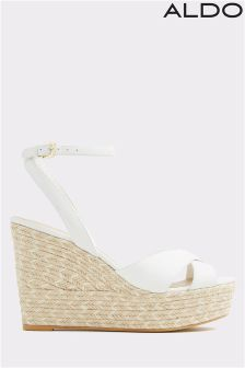 Aldo Rope Heel Wedge Sandals