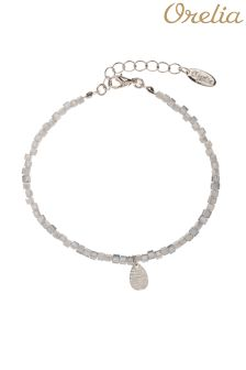 Orelia Teardrop Facet Sparkle Bracelet