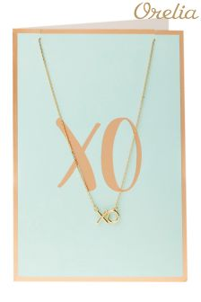 Orelia Xo Ditsy Necklace Giftcard