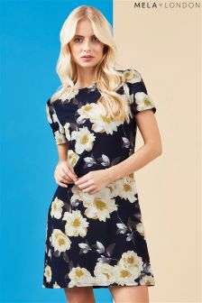 Mela London Floral Shift Dress