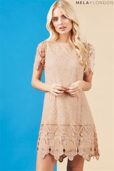 Mela London Lace Shift Dress