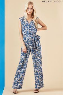 Mela London Flower Print Jumpsuit