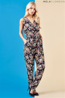 Mela London Zipper Jumpsuit