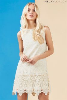 Mela London Lace Sleeveless Dress