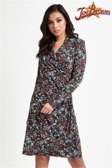 Joe Browns Long Sleeve Print Dress