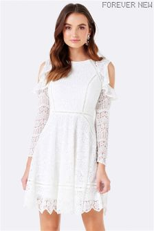 Forever New Lace Skater Dress
