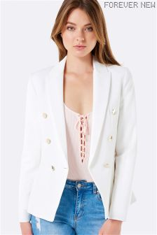 Forever New Button Blazer