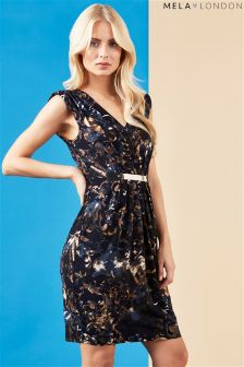 Mela Loves London Printed Belted Dress