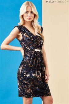 Mela Loves London Printed Belted Dress