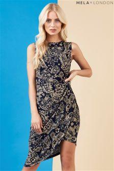 Mela London Side Ruched Dress