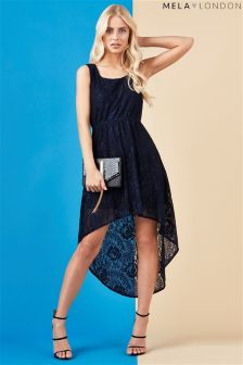 Mela Loves London Lace High Low Dress