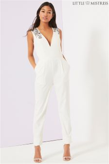 Little Mistress Embroided Jumpsuit
