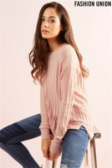 Fashion Union Lightweight Knit Jumper