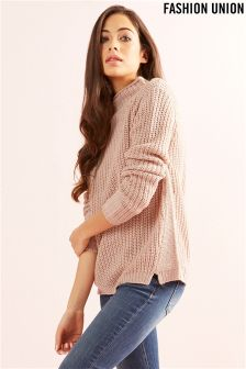 Fashion Union High Neck Jumper
