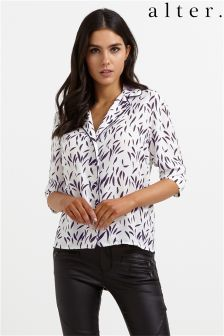 Alter Brush Stroke Print Shirt