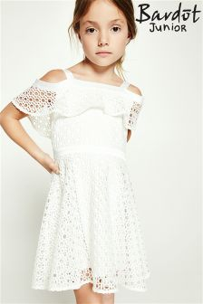 Bardot Junior Mesh Cold Shoulder Dress