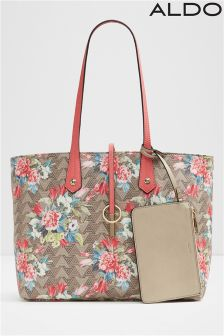 Aldo Medium Soft Jacquard Tote Bag