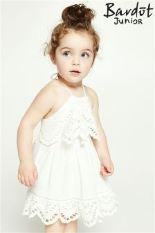 Bardot Junior Broderie Trim Dress