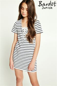 Bardot Junior Laced Up Tee Dress