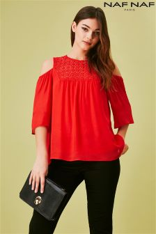 Naf Naf Lace Blouse
