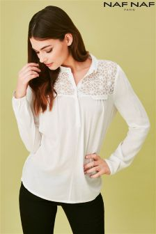 Naf Naf Lace Shirt