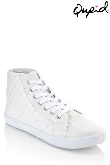 Qupid Patent Casual High Top